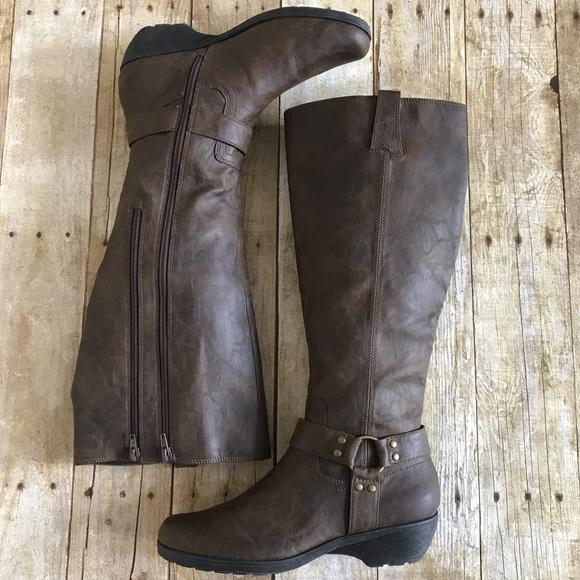 cfef38755dc67 Aerosoles Brown Mezzotint Knee High Boots.